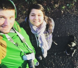 On our favorite hike in Corvallis at the Dunn Forest