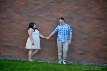 Engagement Pictures, Oregon State University, Corvallis, Oregon